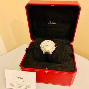 NEW Cartier Ballon Bleu Automatic Mens Watch & Box